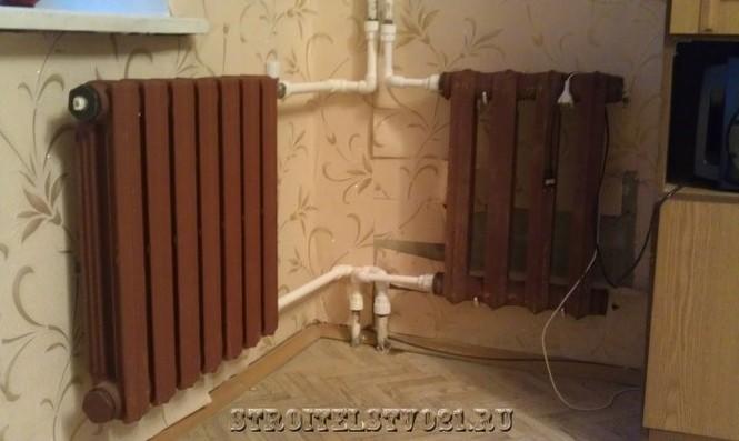 Установка чугунных радиаторов своими руками